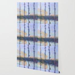 "Claude Monet ""The Four Trees"" Wallpaper"