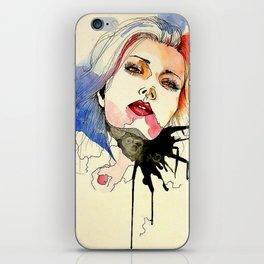 Chiffon Woman iPhone Skin