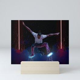 Good Ol' Lightning Feet Mini Art Print
