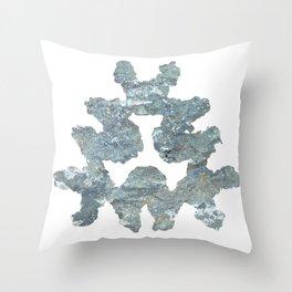 Rock Ink 04 Throw Pillow