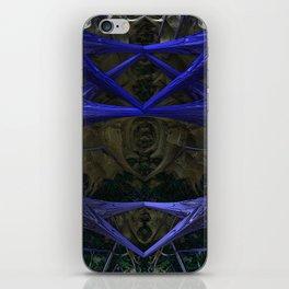 Xeno Blue iPhone Skin