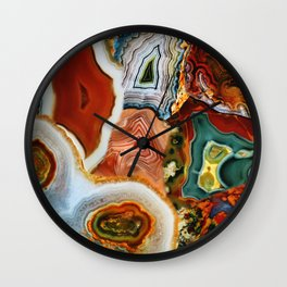 The Earth for the all-pervading Skies, the Moon and the Sun Wall Clock