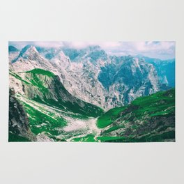 Sicily Italy Moutains Rug