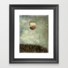 Sinking Framed Art Print