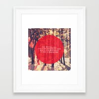 fleet foxes Framed Art Prints featuring Fleet Foxes - White Winter Hymnal by J.J. del Rosario