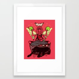 jumpmanism Framed Art Print