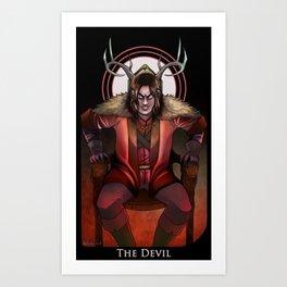 Tarot: The Devil Art Print