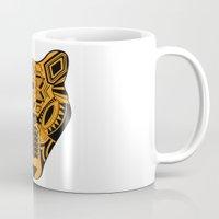 jaguar Mugs featuring jaguar by danta