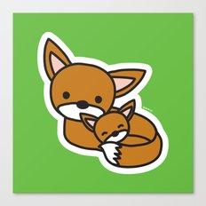 Sweet Fox Canvas Print