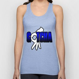 Gotcha The Circle Game Blue Unisex Tank Top