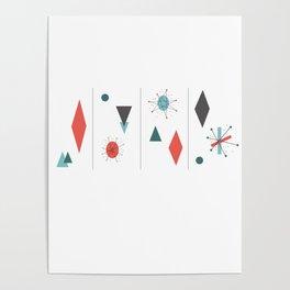 Mid Century Modern Design Poster