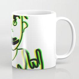 Rasta Peace Drawing Coffee Mug