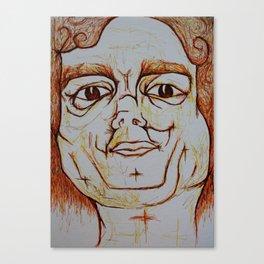 Visage 18 Canvas Print