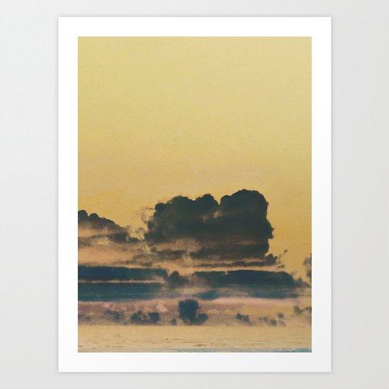 The Storm Will Pass Art Print