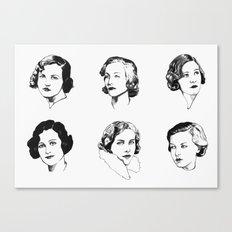 Mitford Sisters Canvas Print