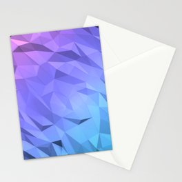 I Love Low Poly Stationery Cards
