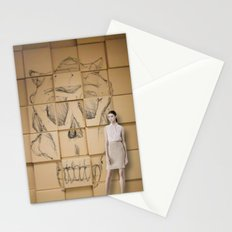 Space in Boxes with a model Stationery Cards
