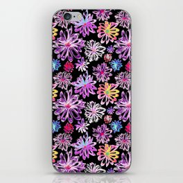 Painted Floral II iPhone Skin