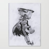 flcl Canvas Prints featuring Lord Canti by Alonzo Hdz