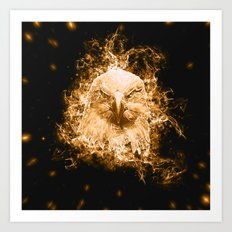 Spirit Eagle Art Print