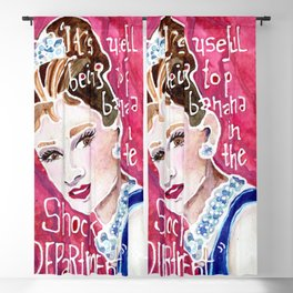 Holly Golightly Blackout Curtain