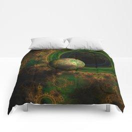 TikTok's Four-Dimensional Steampunk Time Contraption Comforters