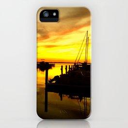 sailor sunset iPhone Case