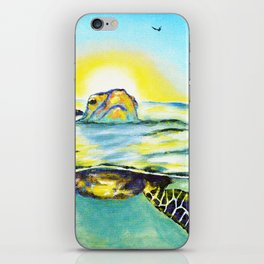 Keep Your Head Above Water. You Got This iPhone Skin
