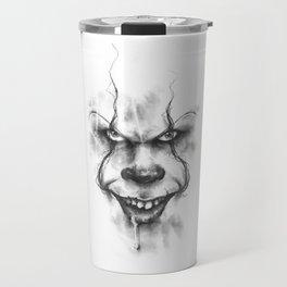 The Dancing Clown Travel Mug