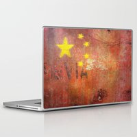 china Laptop & iPad Skins featuring China by Arken25