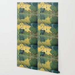 "Gustav Klimt ""Schloss Kammer on the Attersee IV"" Wallpaper"