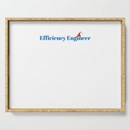 Top Efficiency Engineer Serving Tray