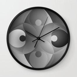 B/W Balance Wall Clock