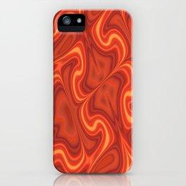 Fiery Fire iPhone Case