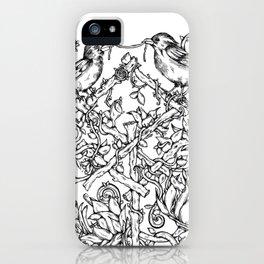 Runes & Ravens iPhone Case