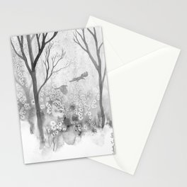 Crows & Trees Stationery Cards