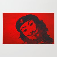 che Area & Throw Rugs featuring Che Anonymous by Nxolab