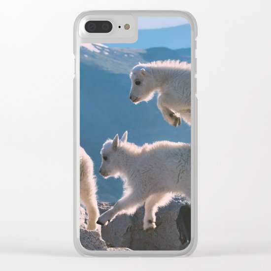 Kids by Lena Owens/OLena Art Clear iPhone Case