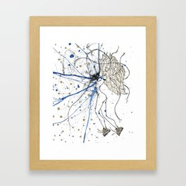 Just Puttin' Me Out There Framed Art Print