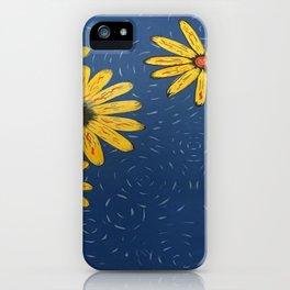 Java Sunflowers iPhone Case