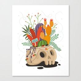 Crazy Plant Lady Canvas Print