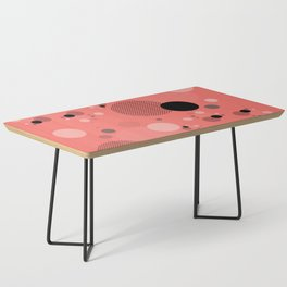 Coral Dots Coffee Table