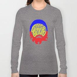 KEEP DENVER BEARD Long Sleeve T-shirt
