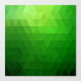 Fields of Green Canvas Print