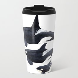 Orca (Orcinus orca) Travel Mug