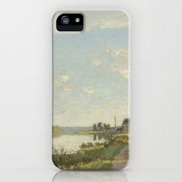 Claude Monet Argenteuil c. 1872 Painting iPhone Case
