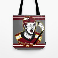 picard Tote Bags featuring Alexandre Picard by Kana Aiysoublood