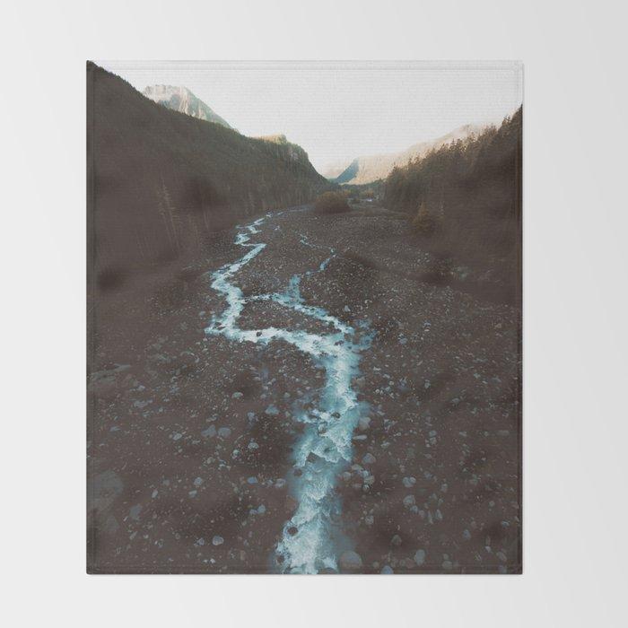 Landscape II #photography #society6 Throw Blanket