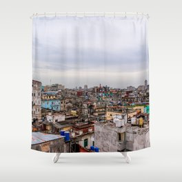 Ciudad de La Habana Shower Curtain