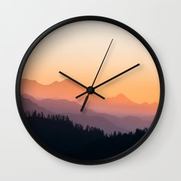Dawn Cinemascope Wall Clock